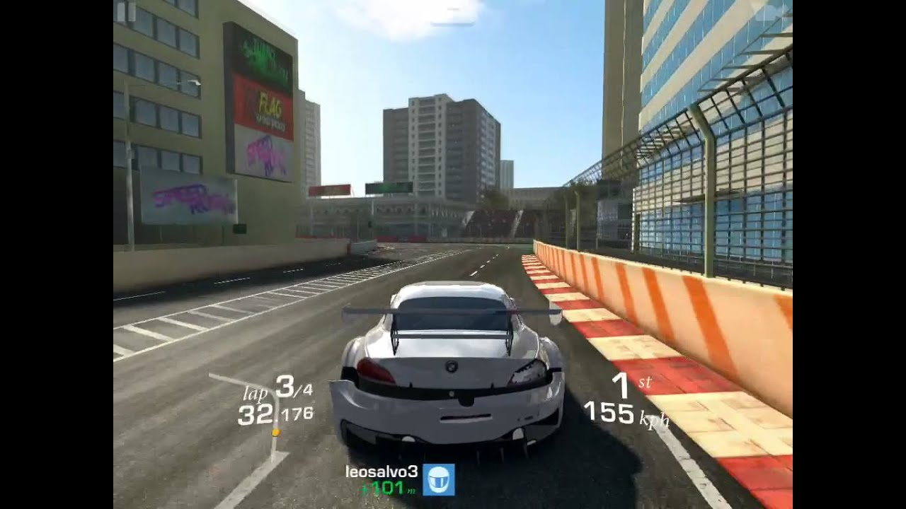 Real Racing 3 Melbourne Bmw Z4 Gt3 Cup Youtube