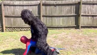 Человек-Паук против Джокера Девушка против Замороженный Эльза сумо