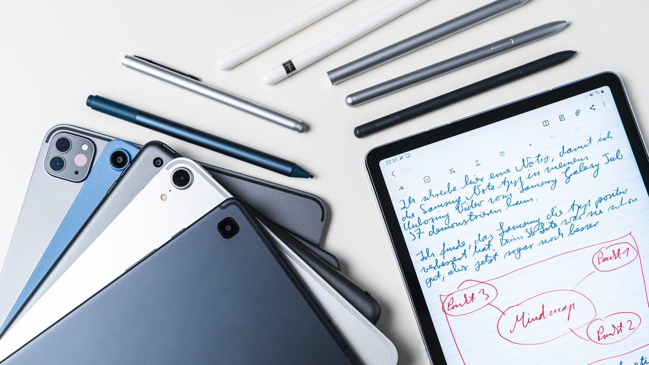 Die 8 besten Tablets mit Stift: 2020 Testsieger