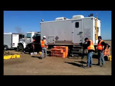 Filming in Winnie, Texas.mov