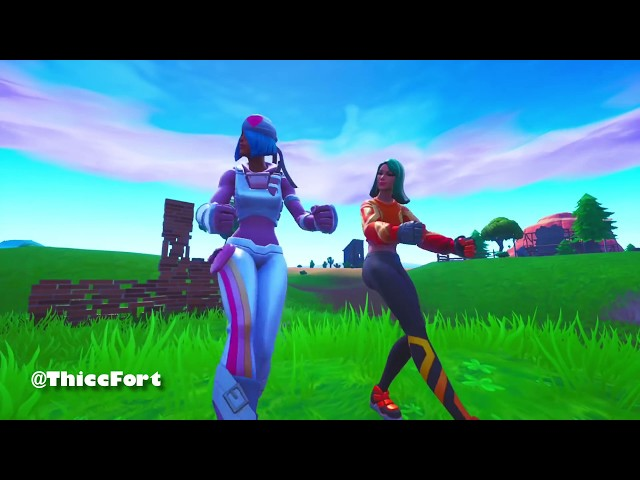 Fortnite THICC WARS??????   THICC Sunbird???????? VS THICC Skully????????    WHEN THICC QUEENS FACE OFF