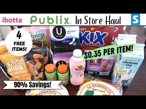 Publix Couponing Haul 4/14-4/20 | $0.35 per Item + 4 Freebies!