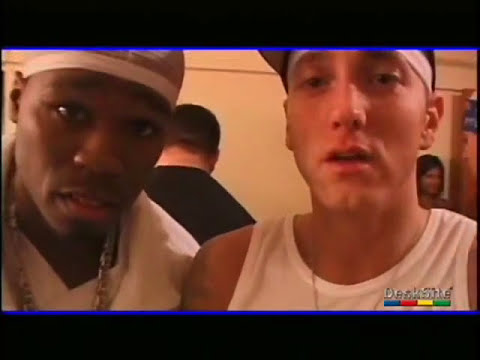 50 cent with Eminem , Dr.Dre , Proof... and more