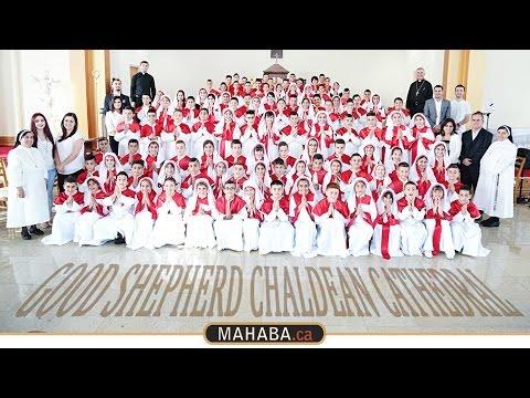 The Holy Mass Of Good Shepard Chaldean church First Communion - MAHABA.ca