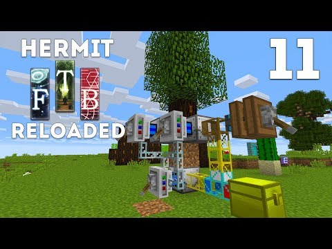 ►Hermits Reloaded - Ep. 11: AUTO RUBBER! (Modded Minecraft 1.12)◄ | iJevin