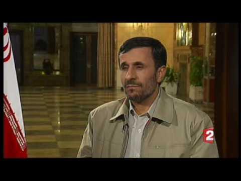 mahmoud ahmadinejad french tv interview