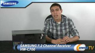 Product Tour: Samsung Home Theater Receiver HW-C700 Video