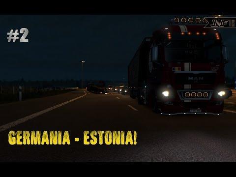 ETS2 E13 - Germania - Estonia | P2