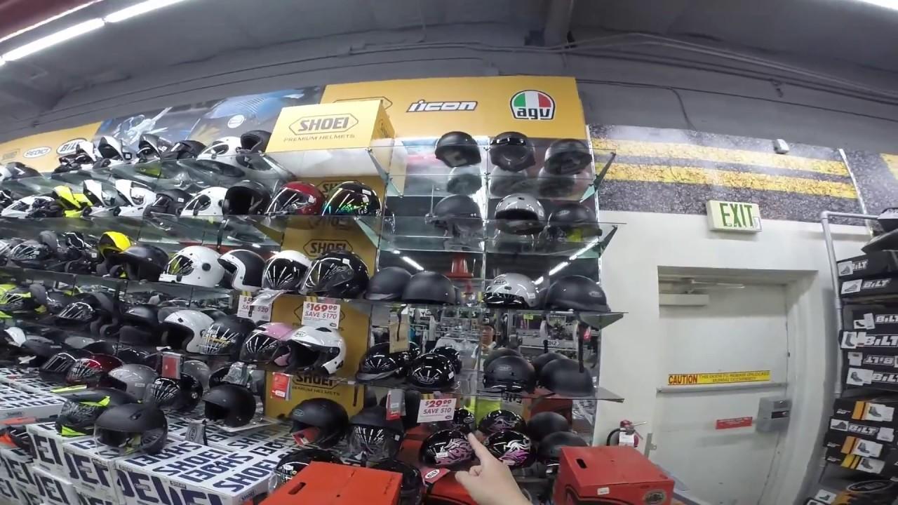 Vlog 20: Thiên đường đồ bảo hộ xe moto part 3: giá nhớt & vỏ xe