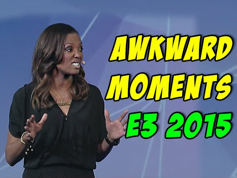 E3 2015 Funny and awkward moments