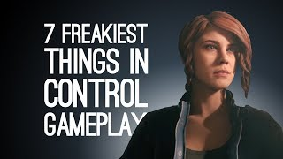 Control Gameplay: 7 Freakiest Things We Saw in Remedy