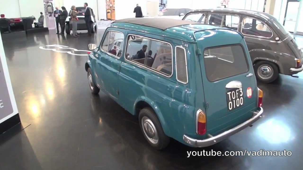 Fiat 500 Giardiniera Amp Fiat 600 Multipla Youtube