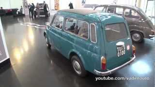 FIAT 500 Giardiniera & FIAT 600 Multipla