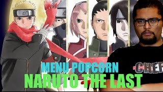 NARUTO THE LAST - MENU POPCORN