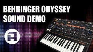 Behringer Odyssey Sound Demo