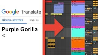 Making a song with Google Translate and Ableton Live