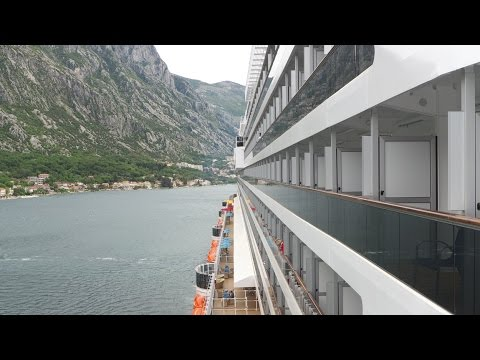 Carnival Vista - Deck 5 Lanai. Part 4 HD1080.