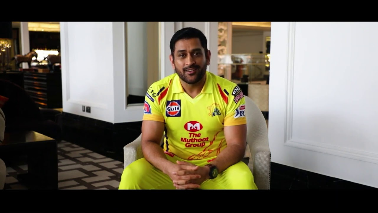 'Dogs are the best that you can have' - Thala Dhoni shares a special message for all the dog lovers