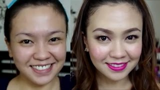 All LOCAL and AFFORDABLE Makeup Tutorial + Recommendations! | TAGALOG