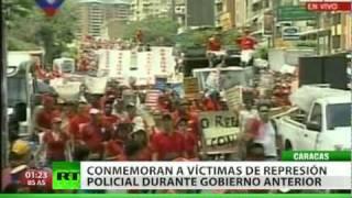 Venezuela recuerda a las víctimas del ´Caracazo´