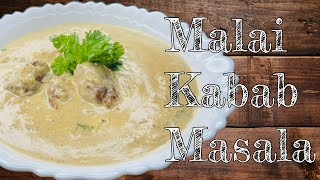 Chicken Malai Seekh Kabab Masala | Kitchen With Amrin