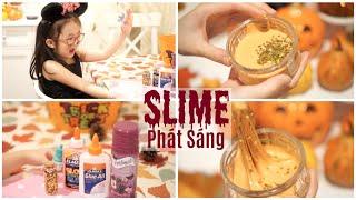 Hướng Dẫn Làm Slime Phát Sáng Tại Nhà Bằng Thuốc Nhỏ Mắt Và Keo Cho Bé | mattalehang