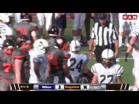 HAN Sports: Wilton at Ridgefield Football 10.21.17