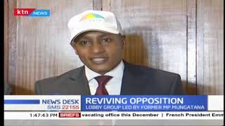 Reviving opposition: We envision the constitution to be amended