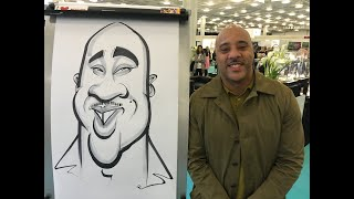 Spot On exhibition caricature