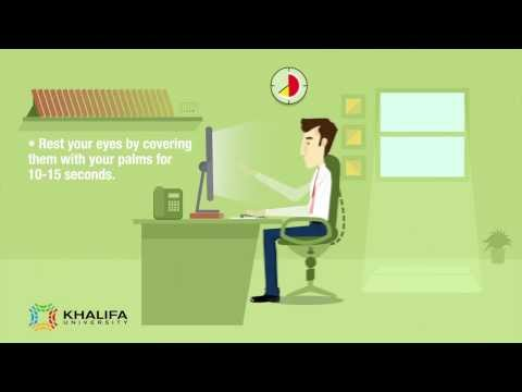 Khalifa University's Environmental, Health and Safety Procedure - Ergonomics