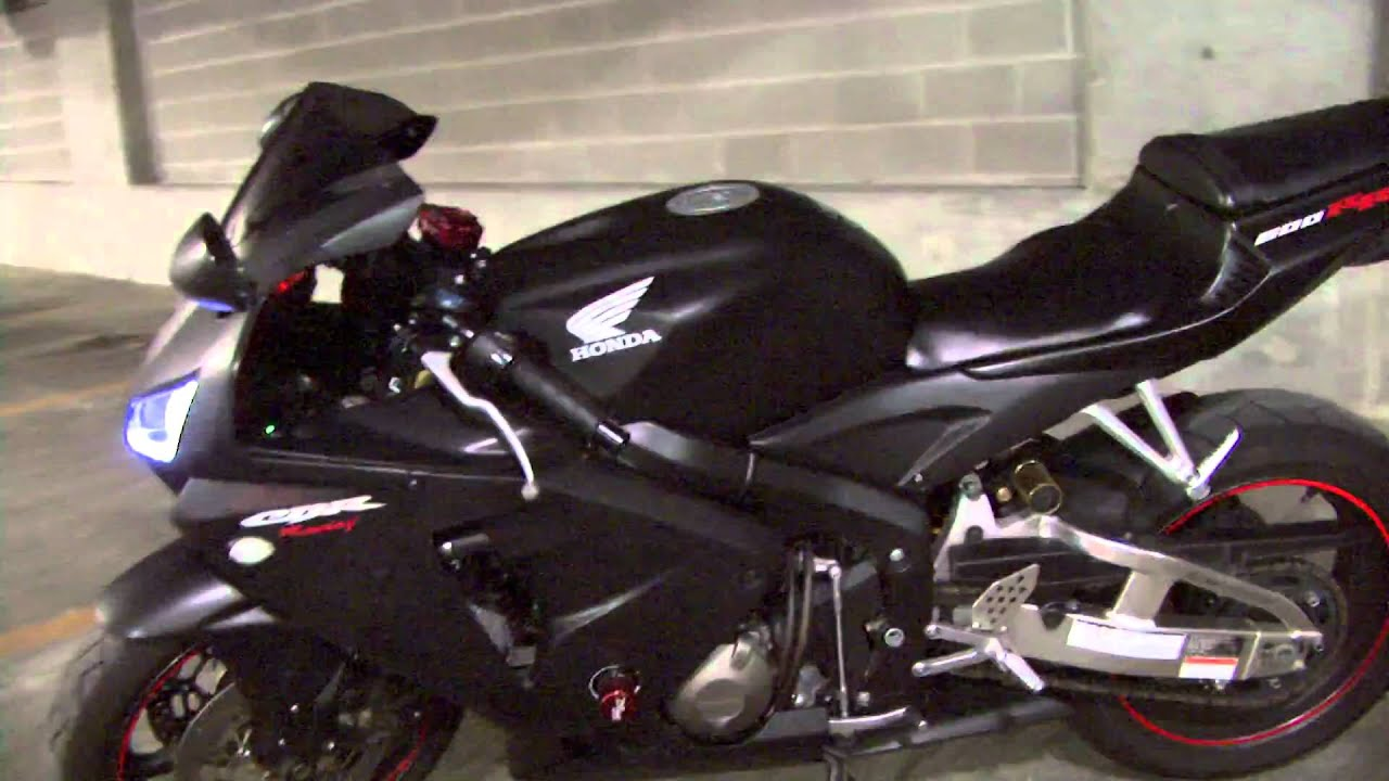 2006 Cbr 600 Rr Two Brothers Flat Black Power