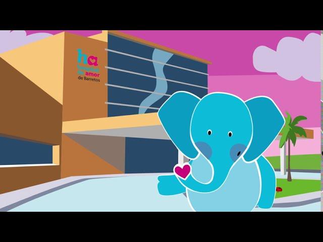 Conheça o Mamu - o novo mascote do Hospital de Amor