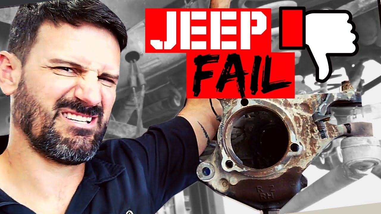 Common Fail 💥on Your Jeep & How to Fix It