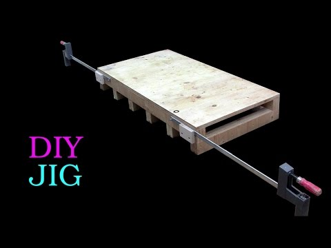 It's crazy, but with this little jig, you're no longer limited by the length of your clamps