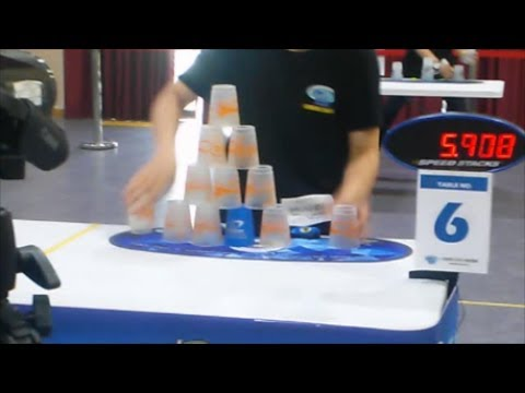 Sport Stacking INCHEON Tournament!!!