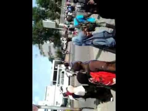 Djibouti Universtity students, demonstration