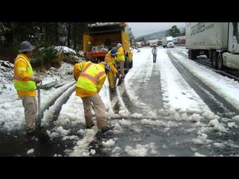 Cerrada la autopista México-Puebla por nevada
