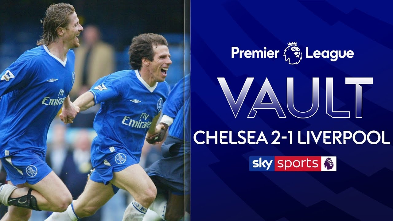 Chelsea clinch Champions League spot from Liverpool on final day! | Chelsea 2-1 Liverpool | May 2003