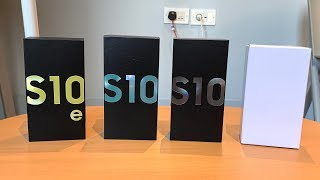 Unboxing: Samsung Galaxy S10, S10+ & S10e (Deutsch) | SwagTab