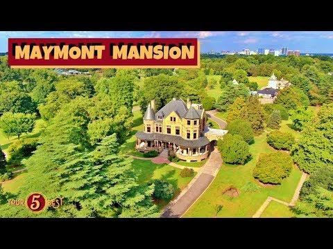 Maymont Mansion Best Views In Richmond Drone Video Youtube