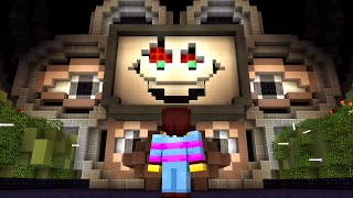 Download OMEGA FLOWEY BOSS FIGHT! Undertale in Minecraft! Mp3 and Videos