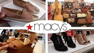 MACY'S SHOE SHOPPING/ SPRING 2019!!! COME WITH ME + BONUS CLIP