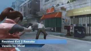 Resident Evil 2 Remake HD | Claire A | Gameplay Español 2014