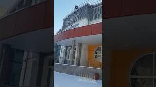 """18+ """"Альпсервис72"""" Промышленный альпинизм.  Уборка снега и наледи"""