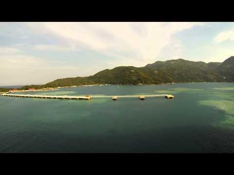 Labadee, Haiti Time Lapse Leaving - Cruise 2013