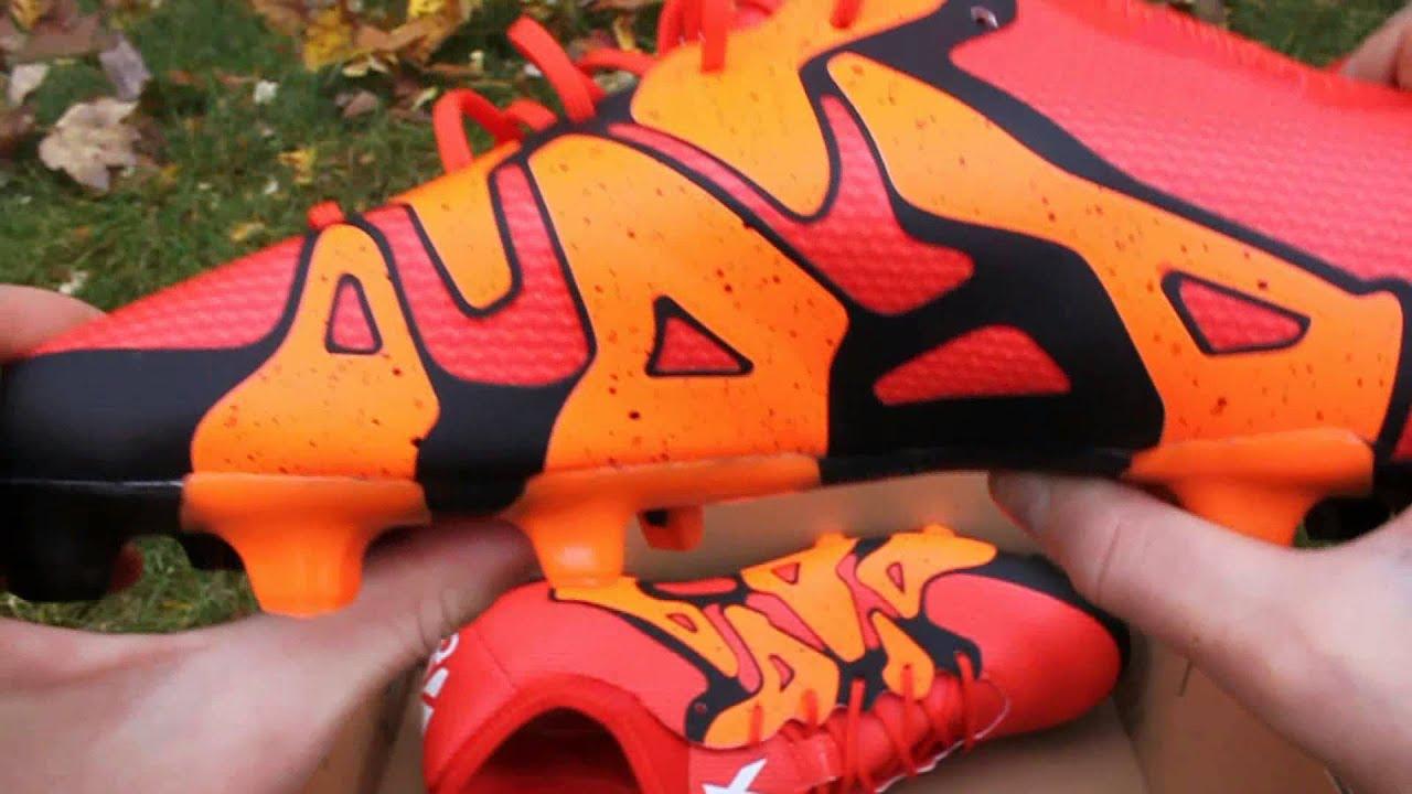 e9b904ed5 Worn by Luis Suarez, Gareth ...,Adidas X 15.1 FG/AG Orange Unboxing