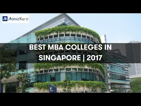 AdmitKard | Best MBA Colleges - Singapore