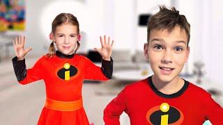 Qu'est-ce que tu aimes Comptines et Chanson pour les enfants - Cinq Enfants