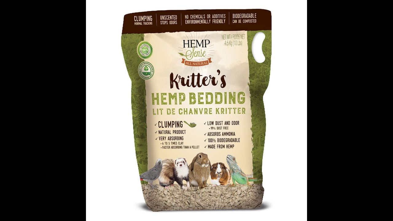 Hemp Sense Kritter's Hemp Animal Bedding VS Paper Competitor! #HempAnimalBedding #HempCrumble