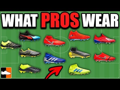 1389c15c991a What Boots Do Pros Wear?! Ronaldo, Messi, Mbappe, Madrid, Barcelona... -  YouTube